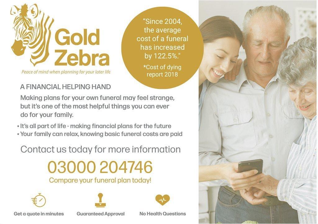 Gold Zebra Leaflet