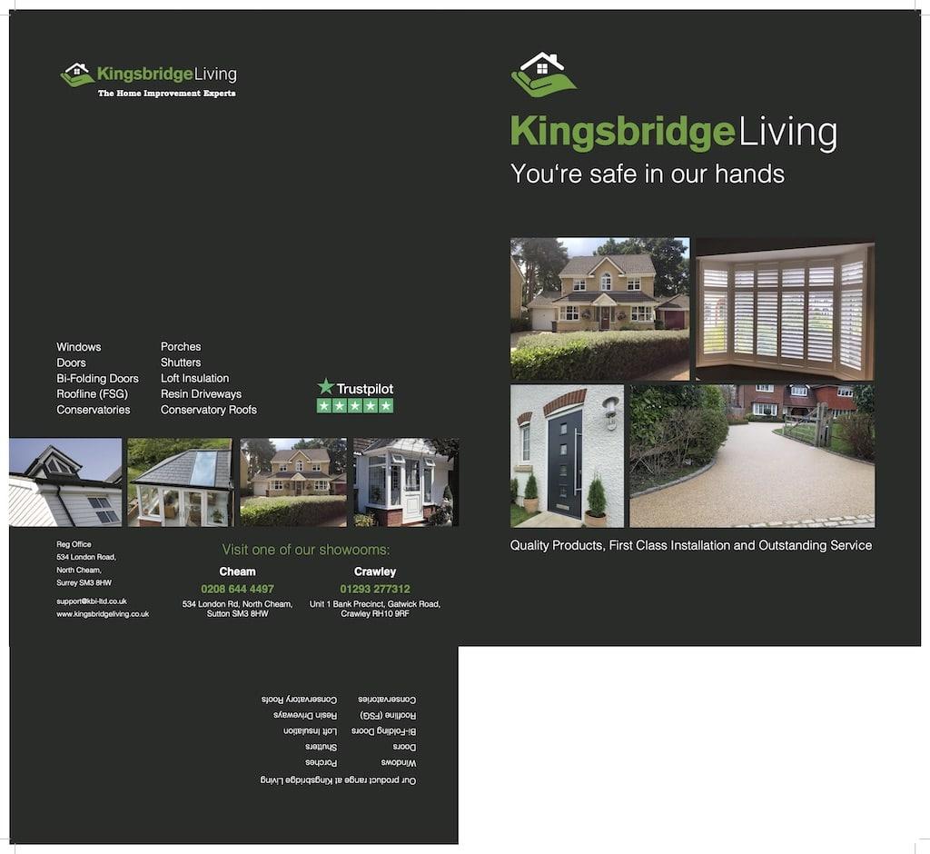 Kingsbridge Presentation graphic design