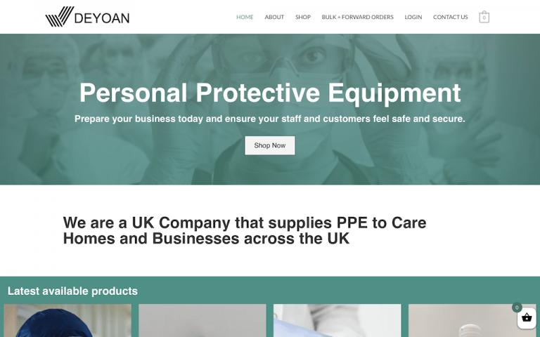 Client site - Deyoan